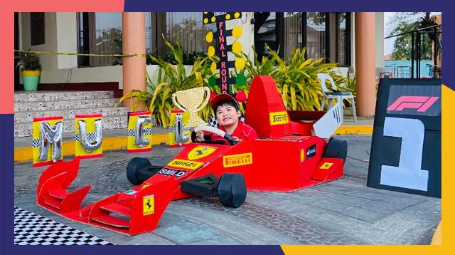 Galing Ni Mommy! P300 Lang Ang Nakakabilib Na DIY Cardboard Race Car Na Ito