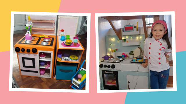 Mukhang Mamahalin! Mom Only Spent P240 For This DIY Kitchen Playset
