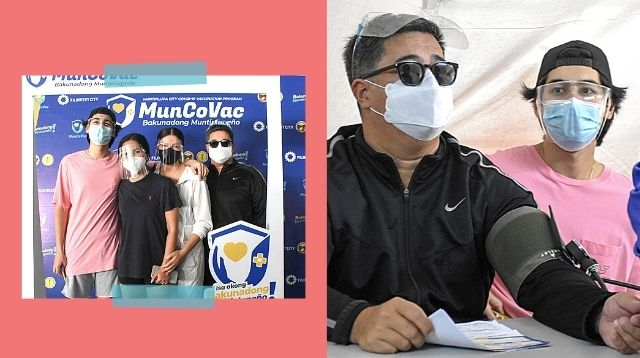 After Aga Muhlach And Familly Got Vaccinated, Netizens Ask About Their Category