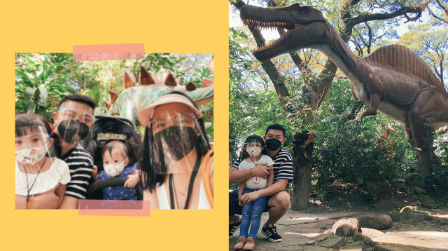 Mom Shares How To 'Travel Responsibly' With Kids In Dinosaurs Island Clark