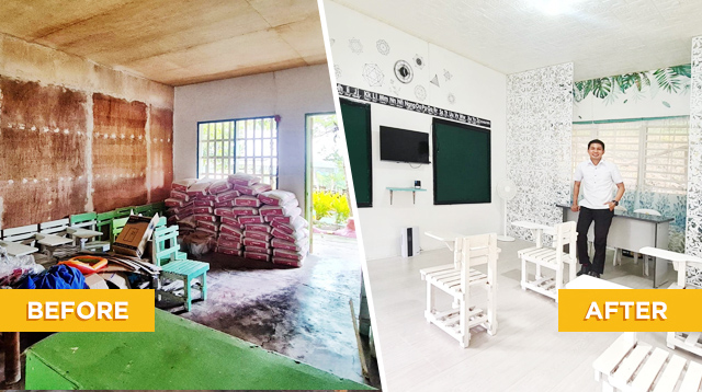 SPED Teacher Uses Own Money To Transform A Storage Room Into A Classroom For His Students