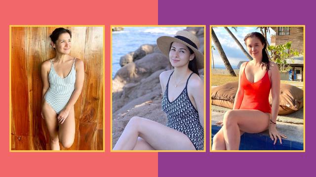Marian Rivera, Sunshine Cruz, and Camille Prats Prove One-Piece Swimsuits Are Sexy!