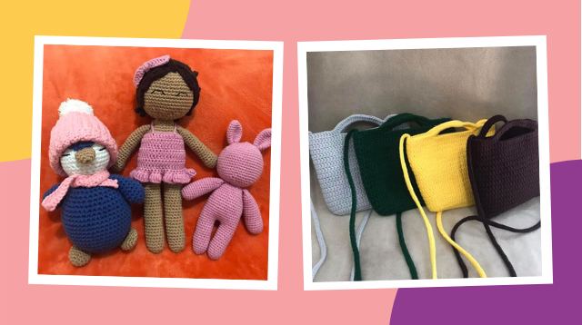 From Hobby To Pagkakakitaan: Stay-At-Home Mom Crochets Bags 'Pandagdag Sa Savings Ni Baby'