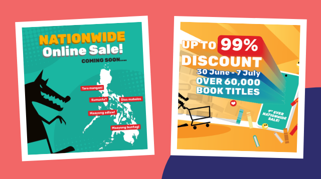 Goodbye Maleta, Hello Cart! Get Books For As Low As P10 At The Online Big Bad Wolf Book Sale