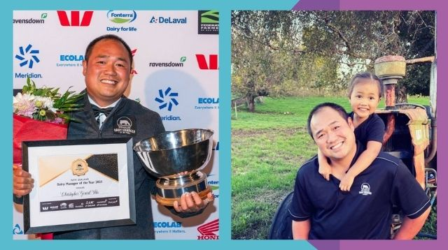 Pinoy Vet Who Began As A Laborer In New Zealand Wins Its Top Dairy Farming Award