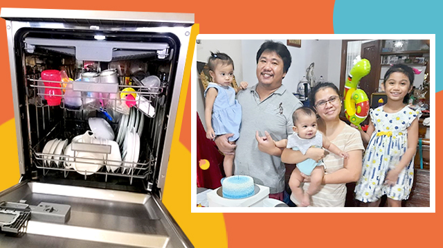 Dad Reviews Dishwasher And Says It's 'Sulit' Because Wife Saves 30 Extra Hours Monthly