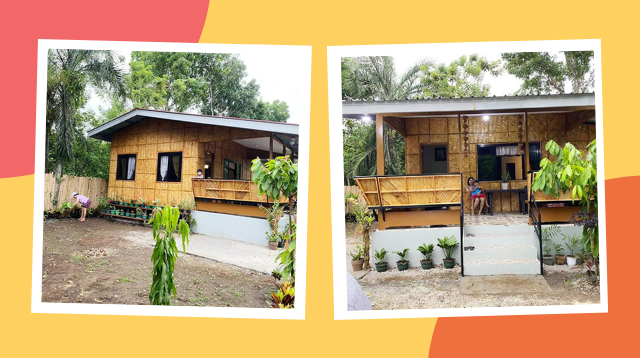 Ang Galing! Parents Spent P500K For This 'Modern' Bahay Kubo That Can Fit A Family Of 5
