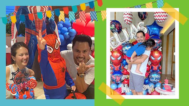 Twice The Fun! Elias Celebrates 3rd Birthday With John Lloyd Cruz And Ellen Adarna