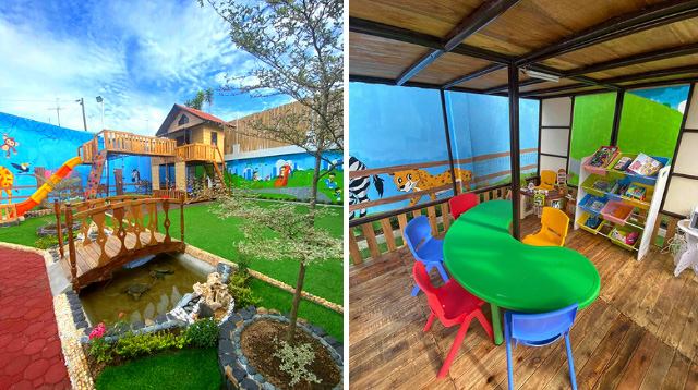 Take A Look At This Awesome Playground Lolo And Lola Built For Their Apos