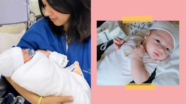 Roxanne Barcelo Reveals Baby Cinco's Face At 1 Month! 'I'm So Excited To Love You'