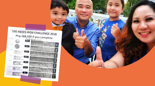 Mom Saves P168,500 From This Kakaibang '100 Pieces' Ipon Challenge