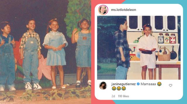 Lotlot De Leon Posts Cute Photos Of Janine Gutierrez And Vico Sotto As Kids