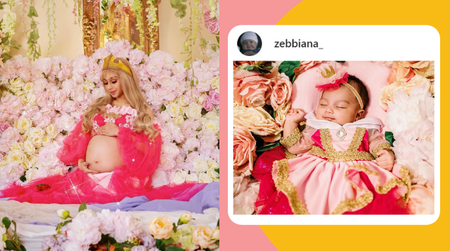 Zeinab Harake's Disney-Inspired First-Month Shoot For Baby Bia Gets 1.8M Views