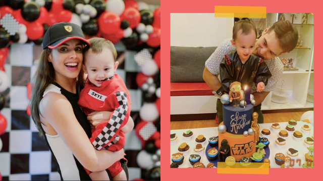 Max Collins, Pancho Magno Hold Separate Parties For Son Skye Anakin's Birthday