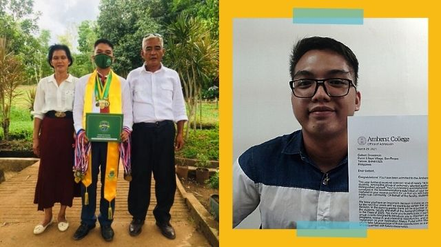 Son Of A Tricycle Driver And Waitress Gets $85K-A-Year Scholarship From Amherst College