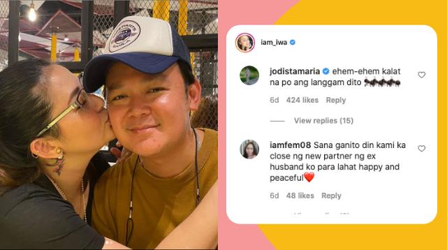 LOOK! Jodi Sta. Maria Teases Ex-Husband Pampi Lacson, Iwa Moto For Being Too Sweet