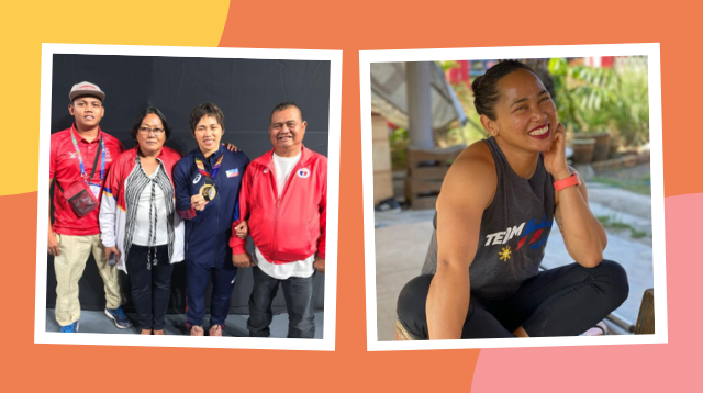 How Hidilyn Diaz's Family Played A Big Role In Reaching Her Olympic Dreams