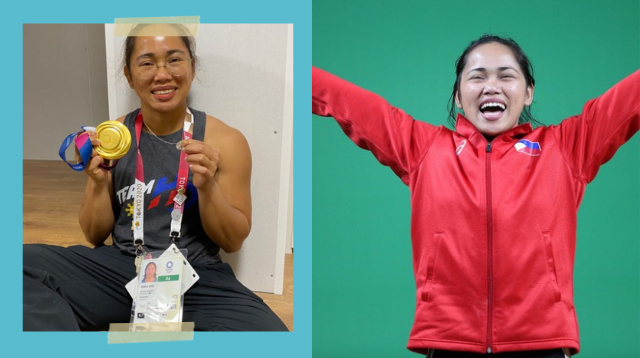 This Was The 'Other Medal' Hidilyn Diaz Was Wearing At The Olympic Podium