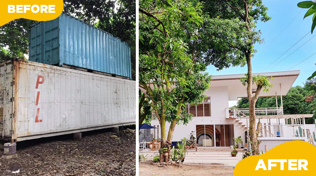 This Family's Rest House is Made Out of Container Vans