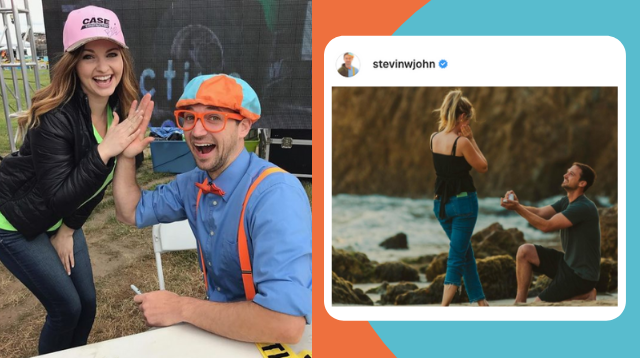 Trending Among Moms: Stevin John 'Blippi' Gets Engaged!