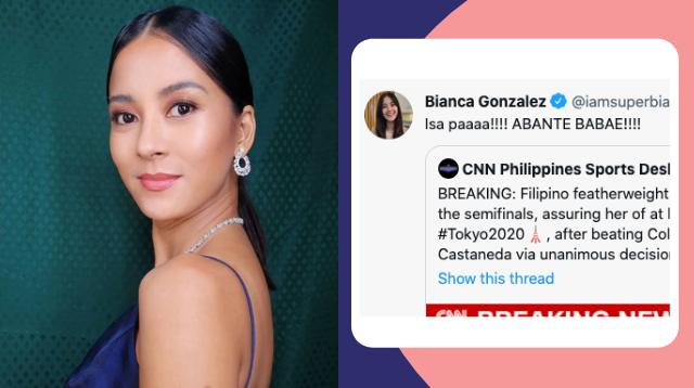 Bianca Gonzalez Claps Back At Netizen Who Said 'Ginagawa Niyong Issue Pagiging Babae'