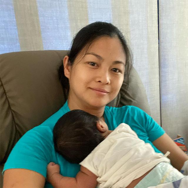 Miriam Quiambao with husband Eduardo