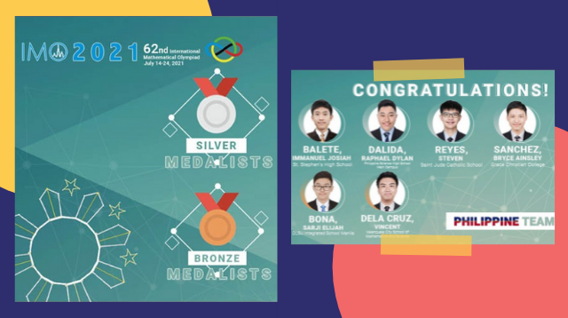 Nanalo Ng Anim Na Medalya Sa International Math Olympiad Ang Mga Pinoy Students Na Ito