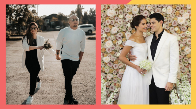 Intimate At Makabuluhan! These Celebrity Brides Chose To Keep It Simple On Their Wedding Day