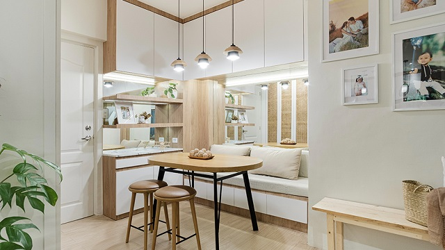 Today's Home Inspo Is A 44sqm Resort-Like Condo In Valenzuela For A Family Of 4