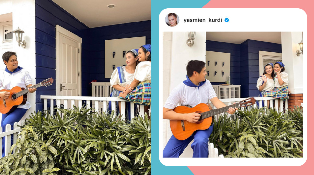 Buwan Ng Wika Lesson? Yasmien Kurdi Introduces Daughter To 'Old-School' Courtship