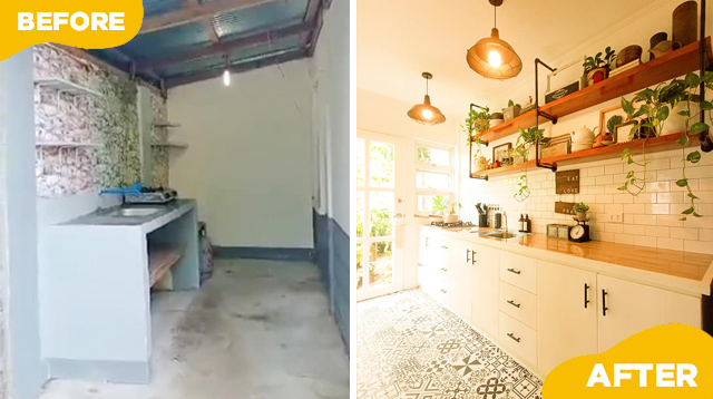 Pretty And Functional! How This Mom Achieved Her Dream Tiny Kitchen