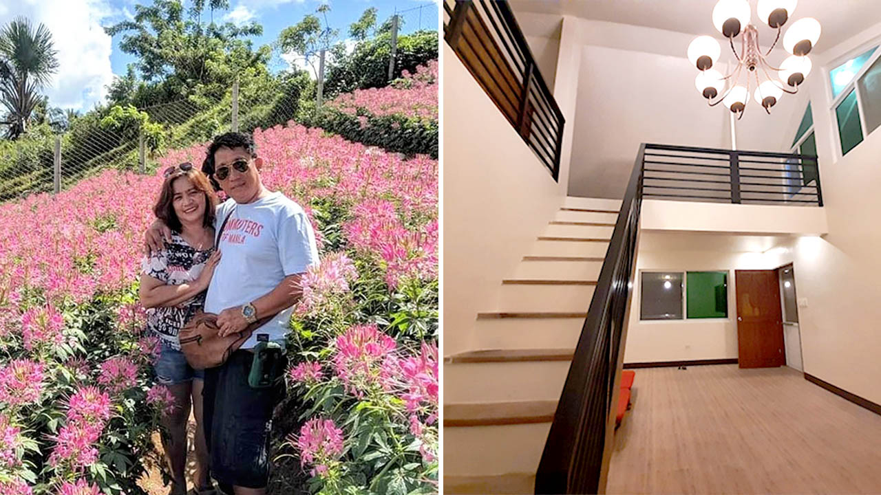 Former OFW Can Now Retire In His 'Pangarap Na Bahay' After Sending All His Kids To School