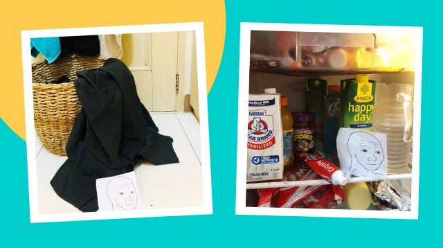 Wife Comes Up With Hilarious Hack To Get The Hubby To Clean His Mess