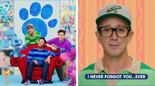 'Blue's Clues' First Host Steve Burns Returns With Video That Moved Fans To Tears
