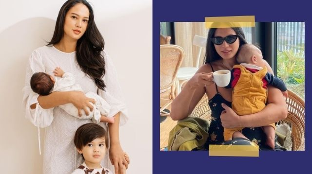 Isabelle Daza Reveals Baby Valentin's Face On His 5th Month