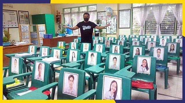 Awww! Eto Ang 'Face-To-Face Classes' Ng Isang Teacher Sa Iloilo