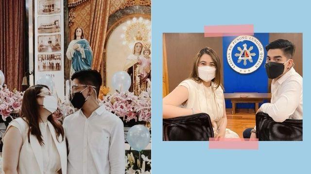 Mark Herras And Nicole Donesa Announce 'Legal Na Kaming Mag-Asawa'