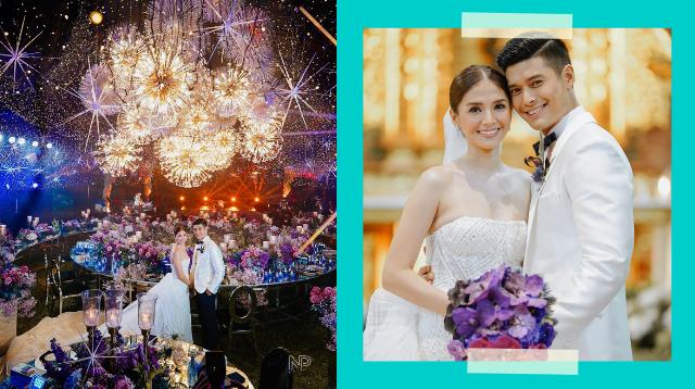 JC De Vera And Rikkah Cruz Say 'I Do' In Church Wedding