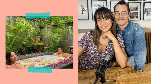 Troy Montero And Aubrey Miles Share Secret To '18 Delicious Years'