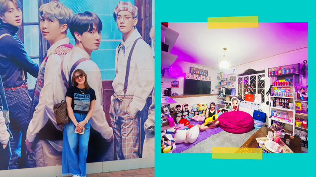 Pinay ARMY Mom Who Spent P2 Million On BTS Merch Gives Us A Sneak Peek Inside Her Room