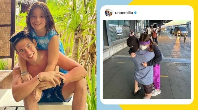 Jake Ejercito Has An Honest Response To Netizen Who Commented On This Goodbye Photo