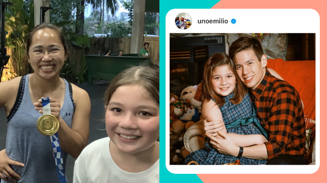 Jake Ejercito Shares Funny Convo With Ellie When He Asked For Hidilyn Diaz's Autograph