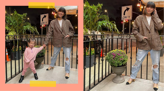 LJ Reyes And Daughter Summer Channel Their Inner Fashionistas In New York!