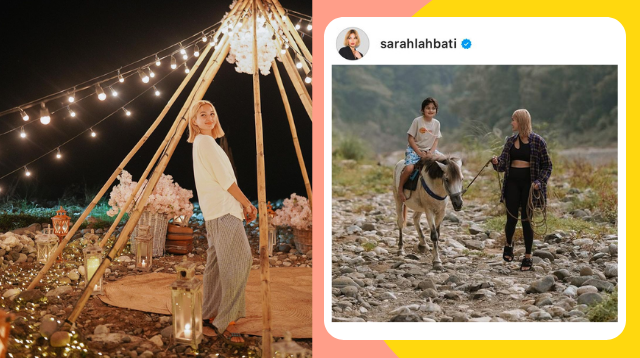 See The Glamping Party Location Richard Gutierrez Chose For Sarah Lahbati's 28th Birthday