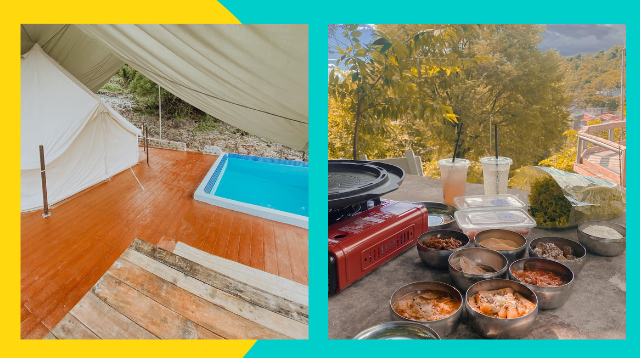 Enjoy Samgyeopsal, Private Pools, And An Open Cinema At This Glamping Spot In Rizal