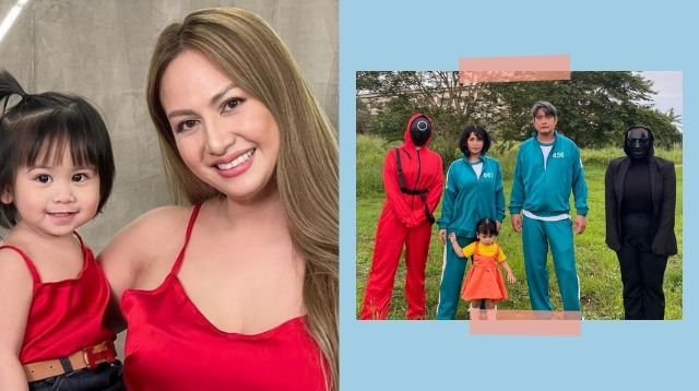 Regine Tolentino And Family Are Halloween Ready In 'Squid Game' Costumes