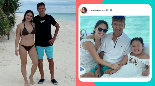 Pauleen Luna Bares Fit Figure In Beach Trip With Family