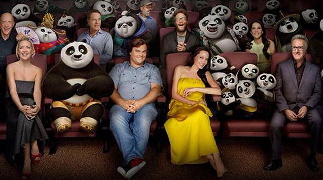 "Angelina Jolie's Kids Voice Characters in ""Kung Fu Panda 3"""