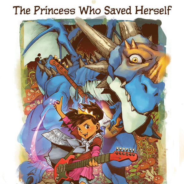 Check it Out: A Storybook that Proves Princesses Can Save Themselves, Too