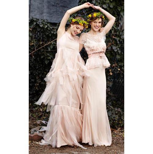 Samantha Sleeper's wedding gown creation